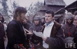 Андрей Тарковский на съемках